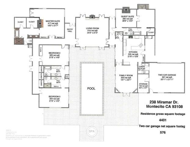 238 Miramar Floorplan