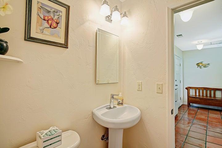 4th full bath - downstairs