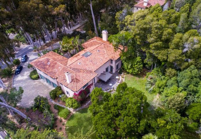 652 Park Lane, Montecito - aerial 1