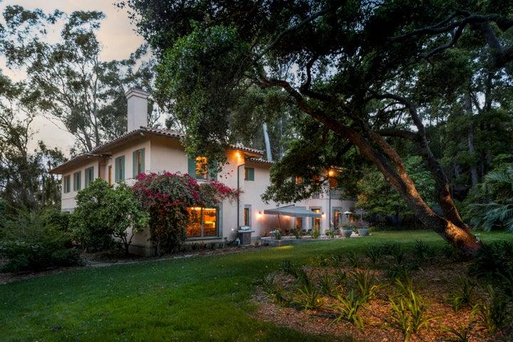 652 Park Lane, Montecito - back nt.