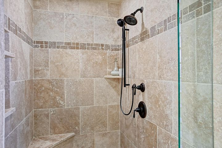 Master Shower Tile Work Detail