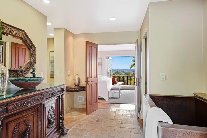 Master Bath to Bedroom