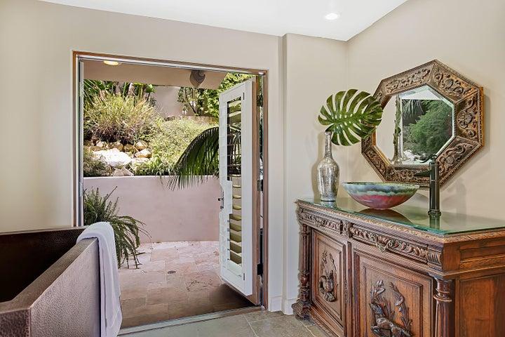 Spa-like Master Bath + Private Patio
