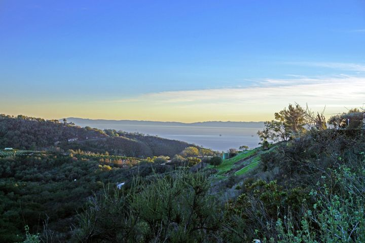 View Of Santa Cruz Island