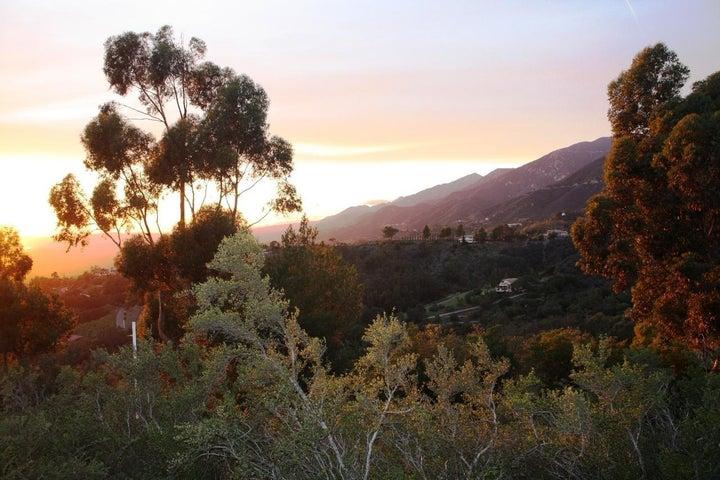Over montecito Valley