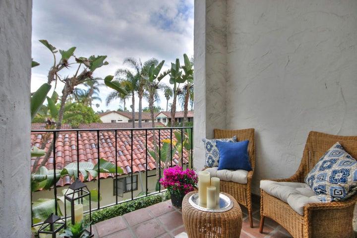 Oceanside Balcony