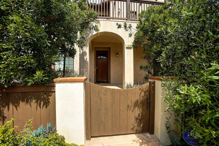 Front Entry Gate