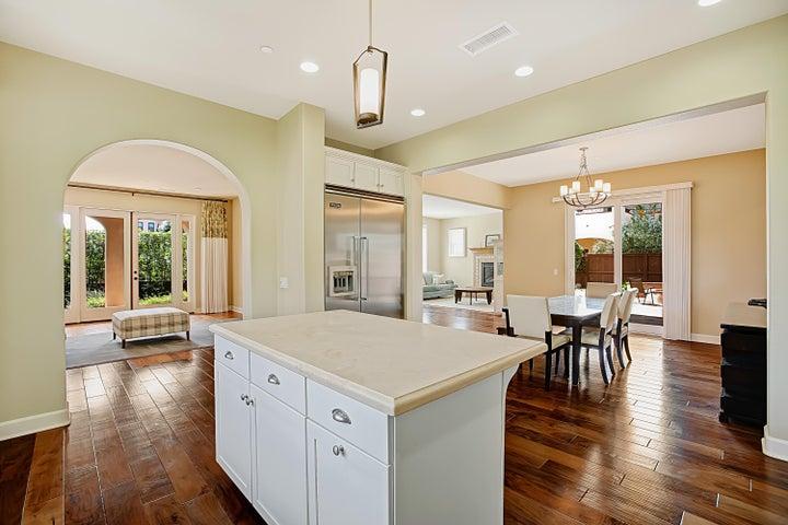 Kitchen angle towards dining