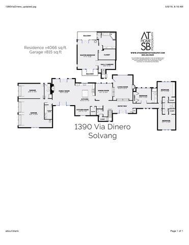 Floorplan 1390 Via Dinero