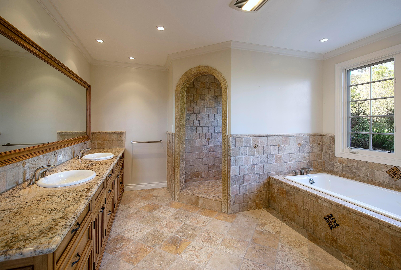 Guest Quarters Remodeled Bath