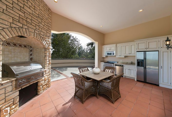 Outdoor Kitchen by Pool