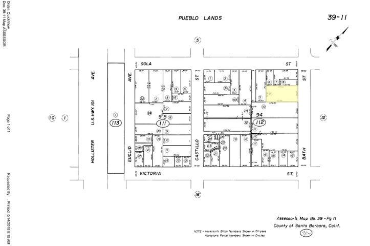 1327 Bath Plat Map