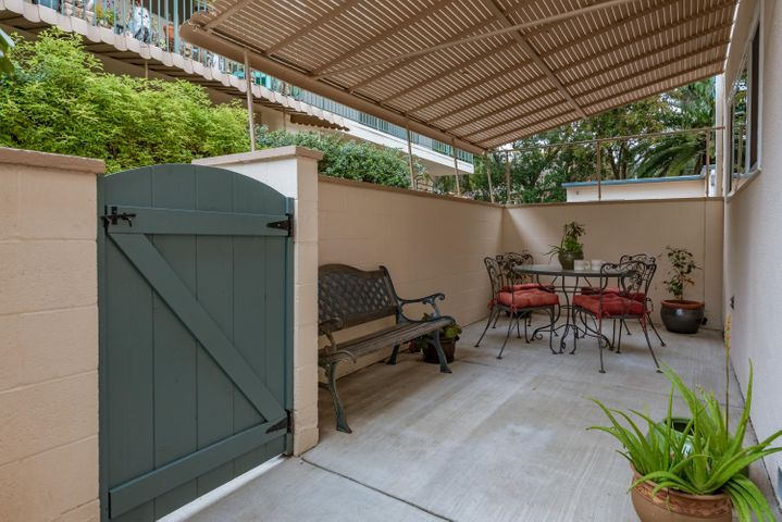 Dining Patio off the Kitchen