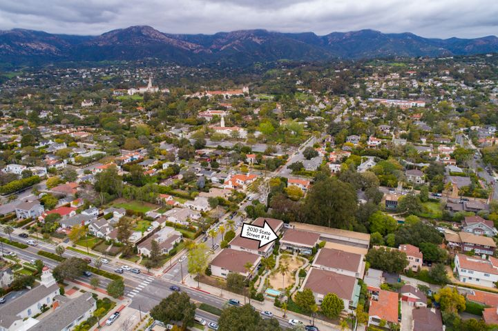 Aerial towards the Mission