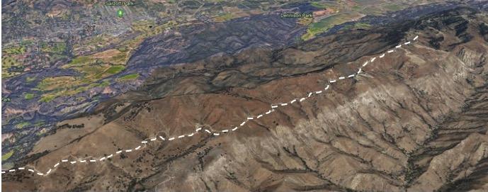 20 aTrails Down Back Side of Sulphur Mt.