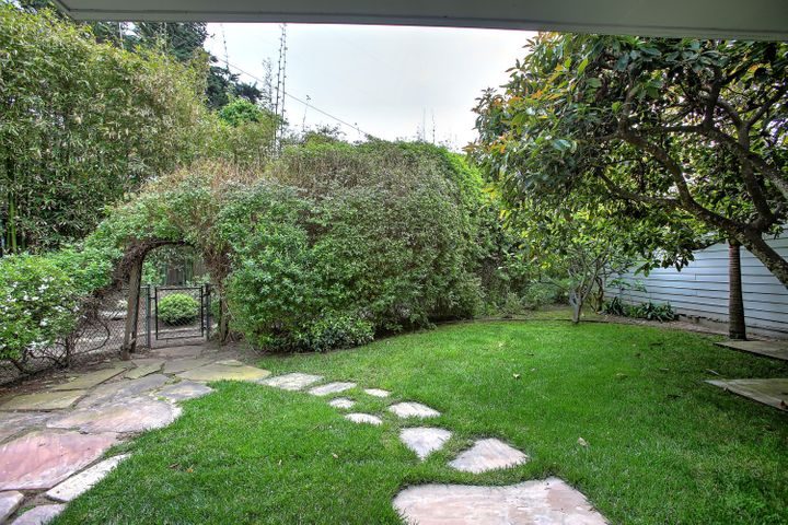 Lush & private rear yard