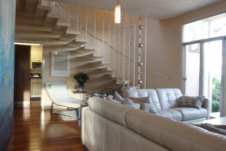 1st Floor Living Room Furnished Stairs