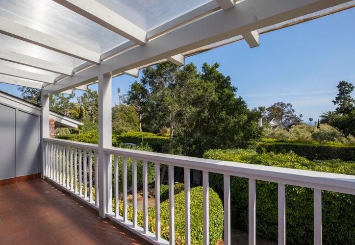 Upstairs View Balcony