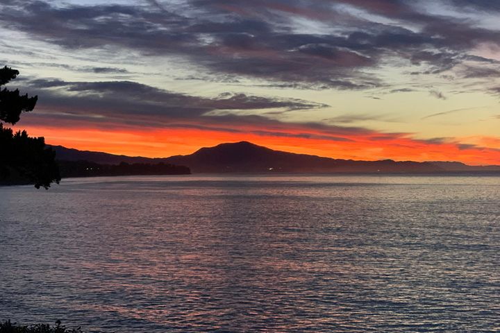 Gorgeous sunrise views