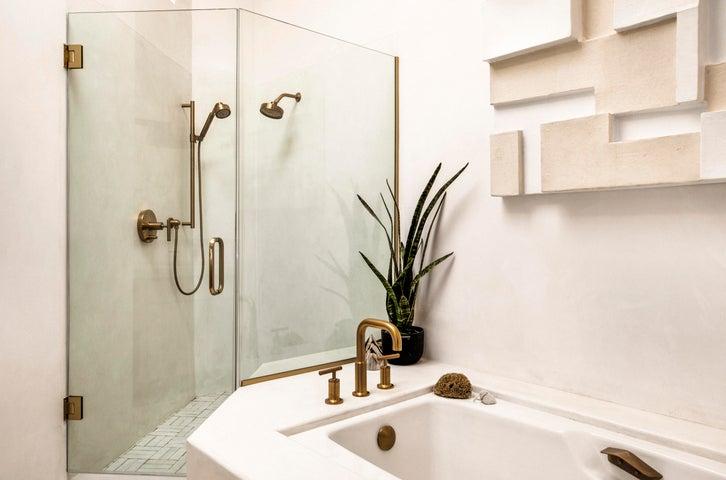 Master Bathroom with Tub