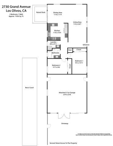 Floor plan Los Olivos