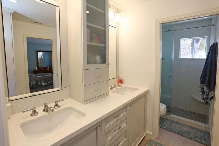 Remodeled upstairs bathroom