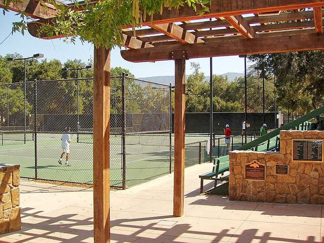18. Tennis at Libbey Park