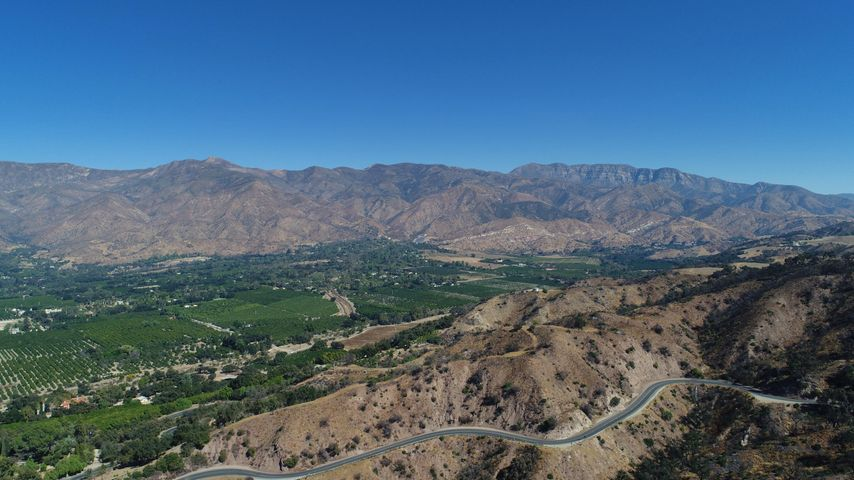 20. Beautiful Ojai aerial view