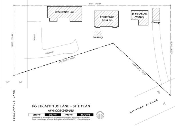 66 Eucalyptus Lane - Site Plan