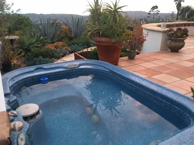 Hot Tub with soothing jets