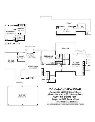 36 Canon View Road Floor Plan