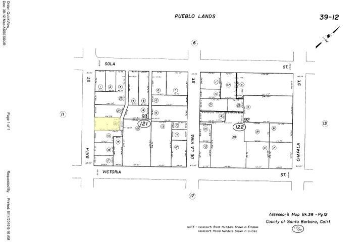 1316 Bath Plat Map