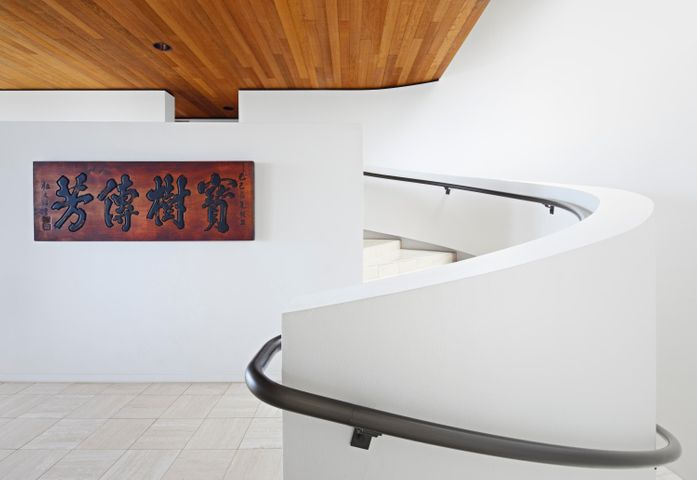 Stunning sweeping staircase