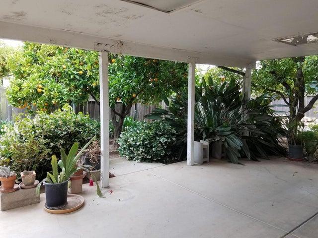Backyard Covered  Patio Area