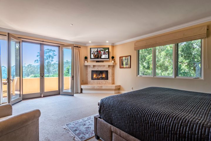 Master Bedroom with View Deck