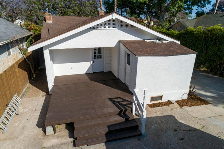 patio and laundry room