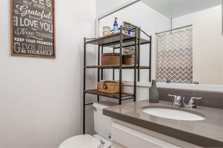 Hall Bath, upstairs