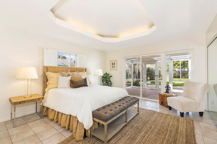 Master Suite with Garden Views