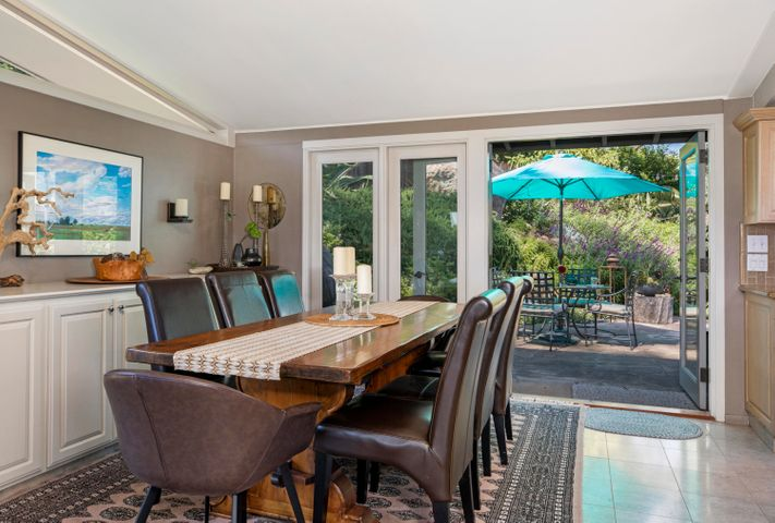 Dining Area with French Doors