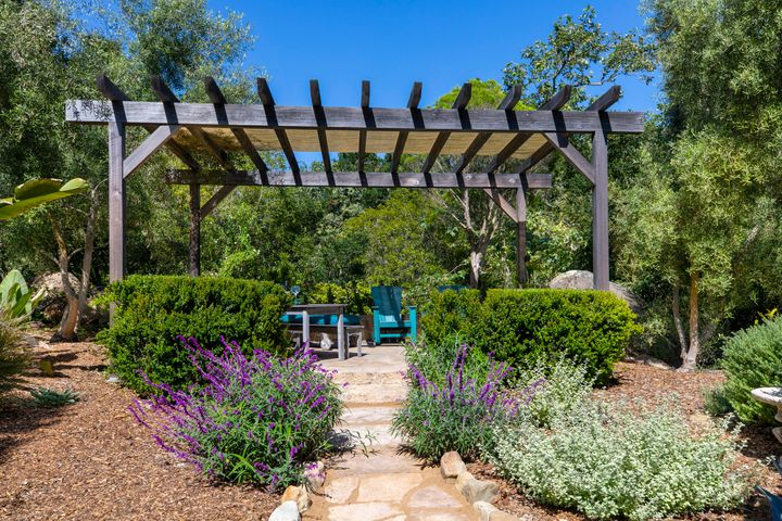 Romantic Pergola w/ Seating