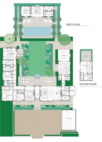 Floor plan & Studio 2nd floor