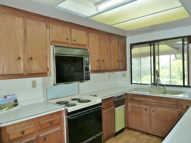 Kitchen w/ view