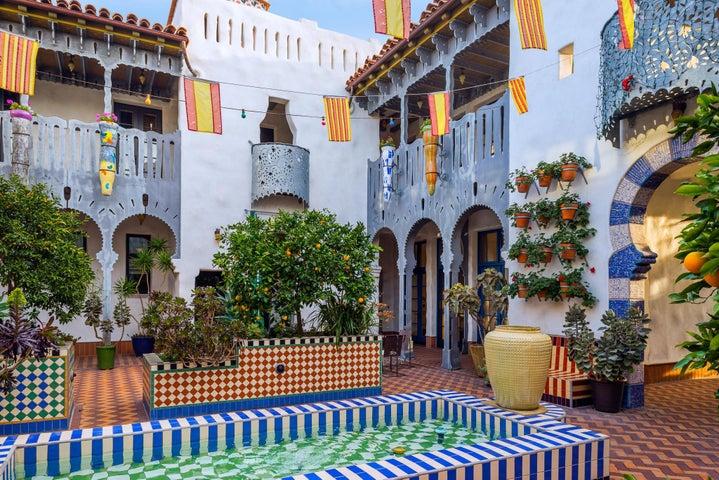 Central Open-Air Courtyard