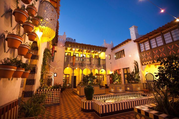 El Andaluz Opne-Air Courtyard