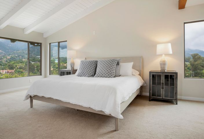 Master Suite w/ Vaulted Ceilings