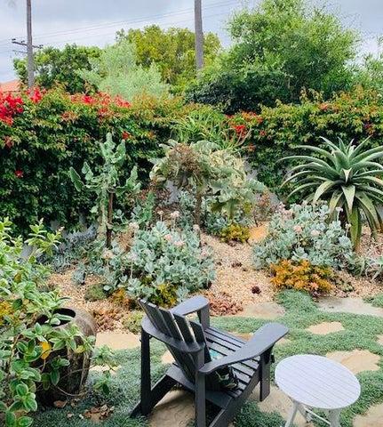 Garden outside living