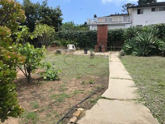 2nd level of rear yard