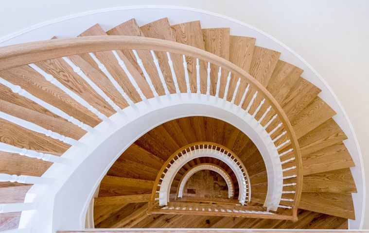 Dramatic stair case