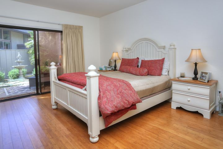 Master Bedroom with Patio
