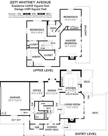2271 Whitney Floor Plan